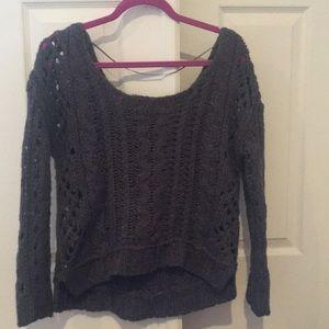 Beautiful FP knit slouchy sweater